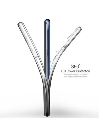 Microsonic Huawei Mate 20 Pro Kılıf 6 tarafı tam full koruma 360 Clear Soft  Renksiz